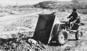 AUSA dömper 1961-ből